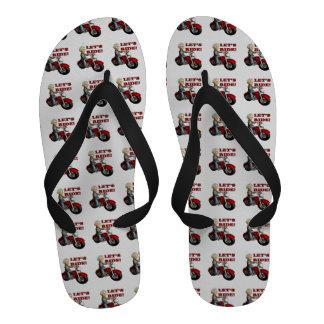 Lets Ride 8 Sandals