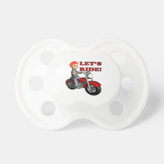 Lets Ride 9 Baby Pacifier
