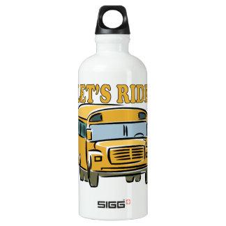Lets Ride Aluminum Water Bottle