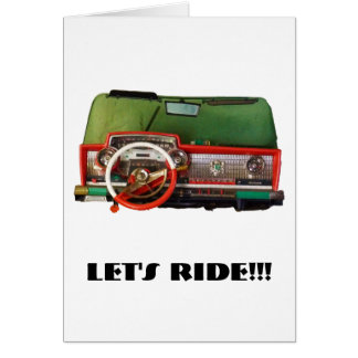 Let's Ride!!! Card
