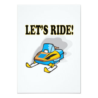 Lets Ride Card