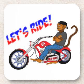 Let's Ride! Drink Coaster