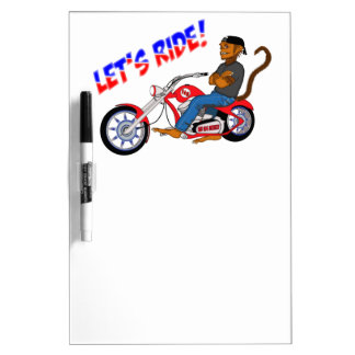 Let's Ride! Dry Erase Board