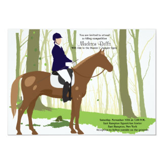 Let's Ride Equestrian Invitation