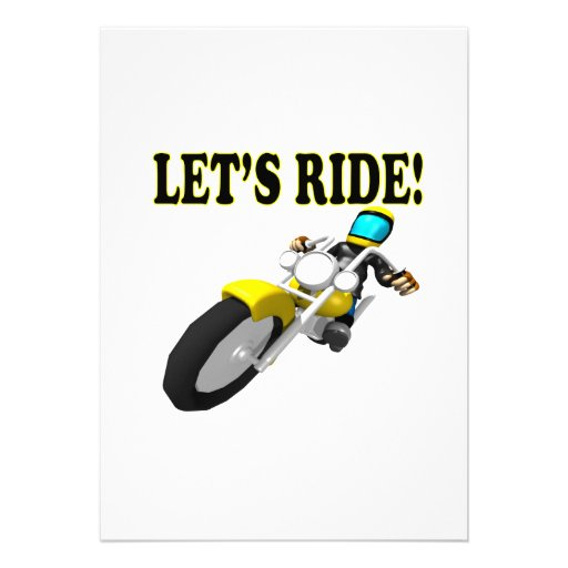 Lets Ride Cards