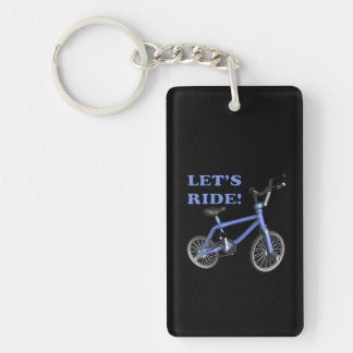 Lets Ride Acrylic Keychains
