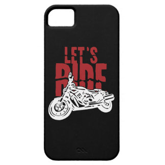 Lets Ride Motorcycle Design iPhone 5 Cases