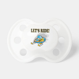 Lets Ride Pacifiers
