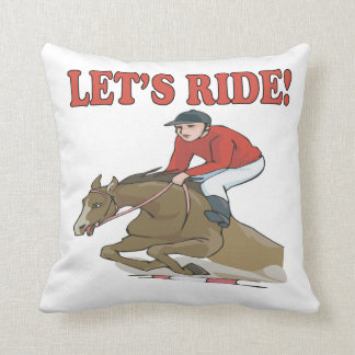 Lets Ride Pillows