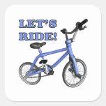 Lets Ride Sticker
