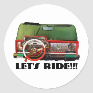 Let's Ride!!! Stickers