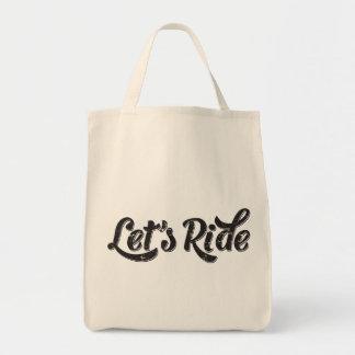 Let's Ride! Tote Bag