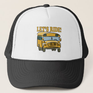 Lets Ride Trucker Hat