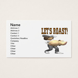 Lets Roast Business Card