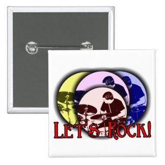 Let's Rock Button