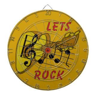 Lets Rock Dartboard