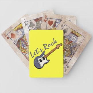 Lets Rock Deck of Cards