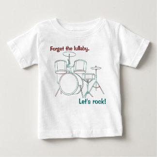 Let's Rock  Drum Set T-shirt