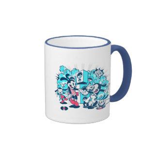 Lets Rock! Ringer Coffee Mug