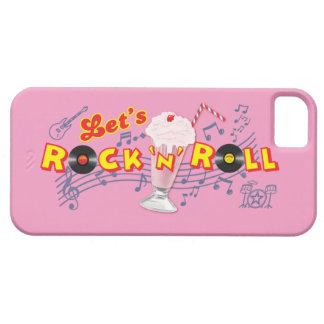 Let's Rock 'n' Roll Iphone5 Case Med Pink