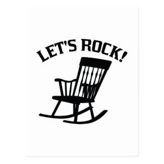 Let's Rock! Postcard