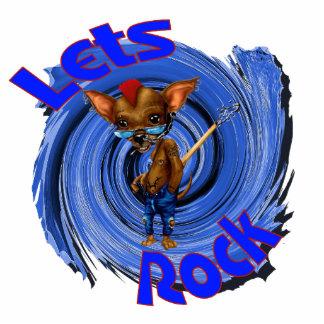 Lets Rock Statuette