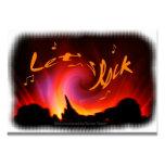 Let's rock tarjetas de visita
