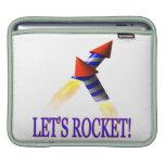 Lets Rocket iPad Sleeve