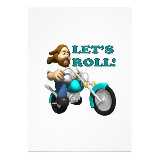 Lets Roll 2 Personalized Invites