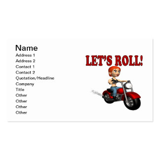 Lets Roll 3 Business Cards