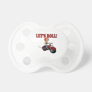 Lets Roll 3 Pacifier