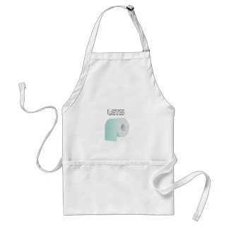 Let's Roll Adult Apron