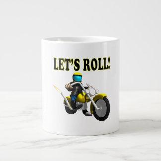 Lets Roll Giant Coffee Mug
