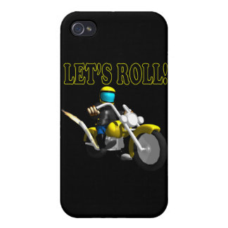 Lets Roll Case For iPhone 4