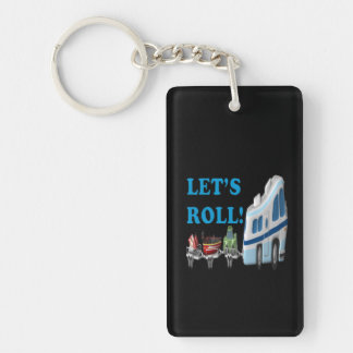 Lets Roll Keychain