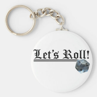 Let's Roll! Keychain