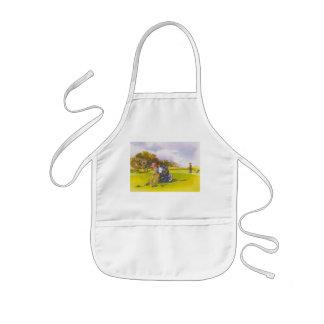 Let's roll kids' apron