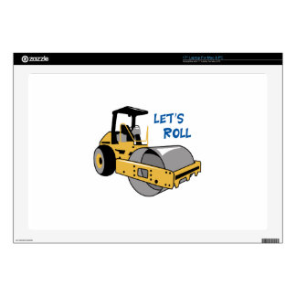 Lets Roll Laptop Decal