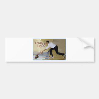 Lets Roll Osama bin Laden Bumper Sticker