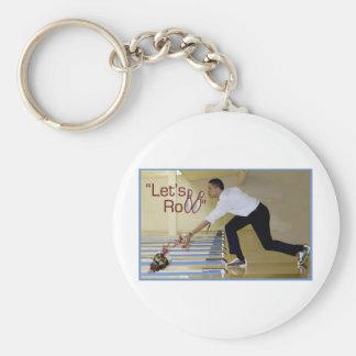Lets Roll Osama bin Laden Keychain