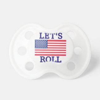 Lets Roll Pacifier