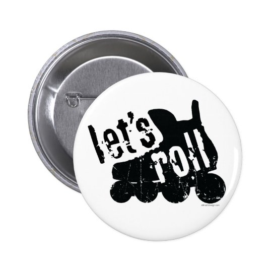 Let's Roll (Roller Hockey) Button