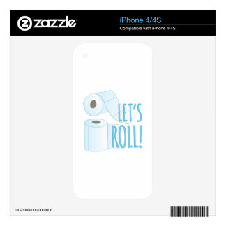 Lets Roll Skin For The iPhone 4S