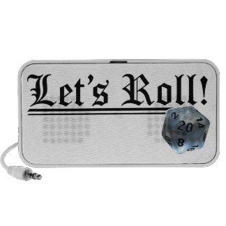Let's Roll! Travel Speaker