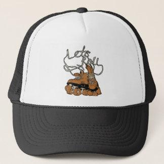 Let's Roll Trucker Hat