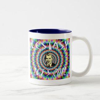 Let's Roll Two-Tone Coffee Mug
