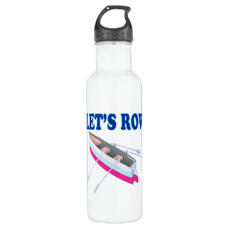 Lets Row Water Bottle
