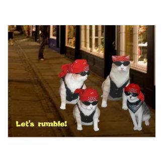 Let's Rumble Postcard