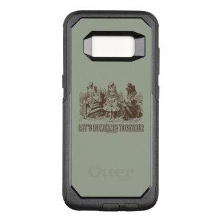 Let's Ruminate Together Wonderland Alice Queens OtterBox Commuter Samsung Galaxy S8 Case