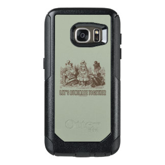 Let's Ruminate Together Wonderland Alice Queens OtterBox Samsung Galaxy S7 Case
